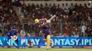 Manvinder Bisla hits one for six, Kolkata Knight Riders v Rajasthan Royals, IPL,Kolkata, May 3, 2013