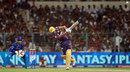 Manvinder Bisla hits one for six, Kolkata Knight Riders v Rajasthan Royals, IPL,Kolkata, May 3, 2013