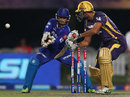 Yusuf Pathan plays a delicate cut shot
