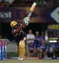 Yusuf Pathan hits to the leg side, Kolkata Knight Riders v Rajasthan Royals, IPL,Kolkata, May 3, 2013
