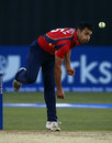 Ravi Bopara at the bowling crease, Essex v Hampshire, YB40 Group B, Chelmsford, May 3, 2012
