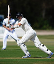 Peter Fulton flicks one off his pads, Derbyshire v New Zealanders, Tour Match, 1st day, Derby, May 4, 2013