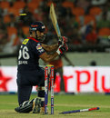 Irfan Pathan slogs Dale Steyn and loses his off stump, Sunrisers Hyderabad v Delhi Daredevils, IPL, Hyderabad, May 4, 2013
