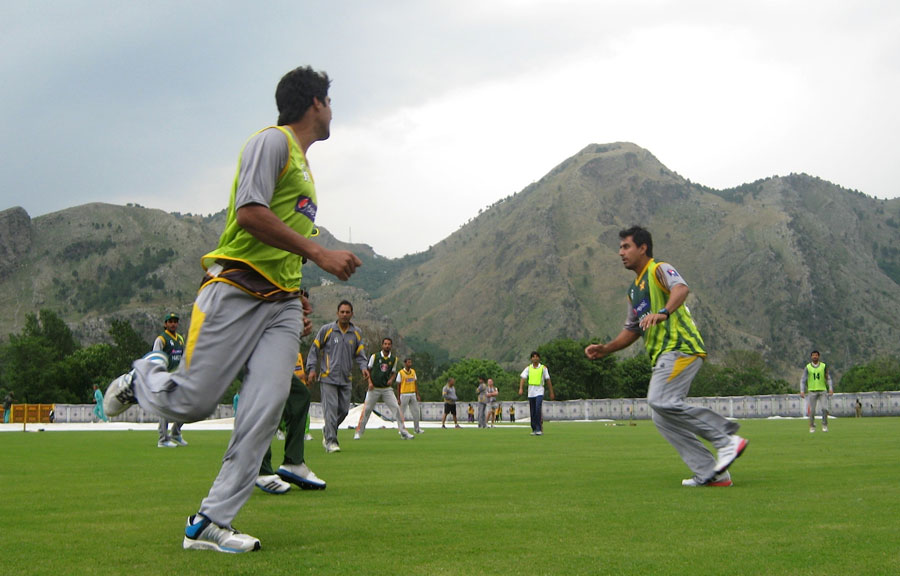 157718 - Pakistan Players training in Abbotabad