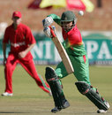 Mominul Haque plays to the off side, Zimbabwe v Bangladesh, 2nd ODI, Bulawayo, May 5, 2013