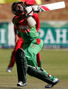 Mohammad Ashraful skies one, Zimbabwe v Bangladesh, 2nd ODI, Bulawayo, May 5, 2013