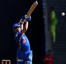 Sachin Tendulkar hits over mid on