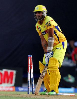 Murali Vijay looks forlorn after being bowled, Mumbai Indians v Chennai Super Kings, IPL, Mumbai, May 5, 2013