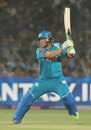 Aaron Finch cuts through the offside, Rajasthan Royals v Pune Warriors, IPL 2013, Jaipur, May 5, 2013