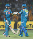 Robin Uthappa and Aaron Finch shared an opening stand of 97 runs, Rajasthan Royals v Pune Warriors, IPL 2013, Jaipur, May 5, 2013