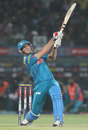 Mitchell Marsh hits a powerful six, Rajasthan Royals v Pune Warriors, IPL 2013, Jaipur, May 5, 2013