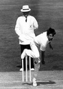 Neil Foster took 5 for 64, England v West Indies, 5th Test, The Oval, 2nd day, August 5, 1988
