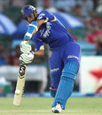 Rahul Dravid hit his second successive half-century
