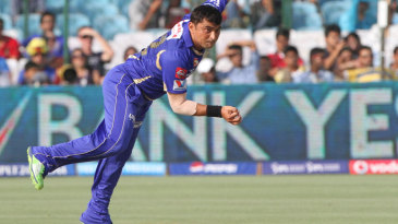 Legspinner Pravin Tambe had a steady debut