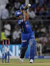 Sachin Tendulkar plays a straight drive