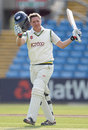 Gary Ballance's ton came in a partnership worth 207 with Adil Rashid, Yorkshire v Somerset, County Championship, Division One, Headingley, 1st day, May 7, 2013