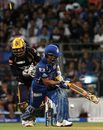 Sachin Tendulkar was bowled while playing the paddle
