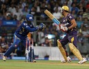 Manvinder Bisla was stumped by Dinesh Karthik, Mumbai Indians v Kolkata Knight Riders, IPL, Mumbai, May 7, 2013