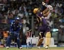 Yusuf Pathan was bowled for 13, Mumbai Indians v Kolkata Knight Riders, IPL, Mumbai, May 7, 2013