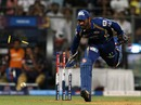 Dinesh Karthik ran out Ryan McLaren, Mumbai Indians v Kolkata Knight Riders, IPL, Mumbai, May 7, 2013