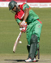 Mahmudullah about to play a glance, Zimbabwe v Bangladesh, 3rd ODI, Bulawayo, May 8, 2013