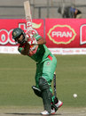 Mahmudullah plays to the leg side, Zimbabwe v Bangladesh, 3rd ODI, Bulawayo, May 8, 2013