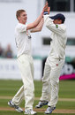 Craig Miles claimed a wicket with his third ball, Gloucestershire v Hampshire, County Championship, Division Two, Bristol, 1st day, May 8, 2013
