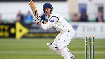 Jimmy Adams struck a fighting half-century