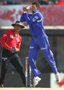 Ajit Chandila plucks a catch, Kings XI Punjab v Rajasthan Royals, IPL, Mohali, May 9, 2013