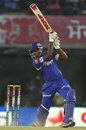 Sanju Samson digs one out to the off side