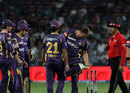 Jacques Kallis indicates that the ball hit his foot after appealing for a run-out, Pune Warriors v Kolkata Knight Riders, IPL 2013, Pune, May 9, 2013