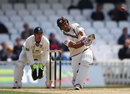 Vikram Solanki hit six fours in his 38, Surrey v Durham, County Championship, Division One, The Oval, 1st day, May 10, 2012