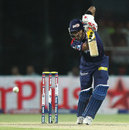 Unmukt Chand top-scored with 41, Delhi Daredevils v Royal Challengers Bangalore, IPL 2013, Delhi, May 10, 2013