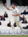 Callum Thorp took three top-order wickets, Surrey v Durham, County Championship, Division One, The Oval, 1st day, May 10, 2012