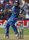 Dinesh Karthik pulls to the leg side, Pune Warriors v Mumbai Indians, IPL, Pune, May 11, 2013