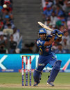 Ambati Rayudu plays to the off side, Pune Warriors v Mumbai Indians, IPL, Pune, May 11, 2013