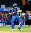 Harbhajan Singh does his version of the <i>Gangnam</i>, Pune Warriors v Mumbai Indians, IPL, Pune, May 11, 2013