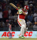 Adam Gilchrist is bowled by Darren Sammy, Kings XI Punjab v Sunrisers Hyderabad, IPL, Mohali, May 11, 2013