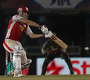 Shaun Marsh hits one square, Kings XI Punjab v Sunrisers Hyderabad, IPL, Mohali, May 11, 2013
