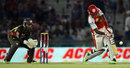 Rajagopal Satish strikes a six, Kings XI Punjab v Sunrisers Hyderabad, IPL, Mohali, May 11, 2013
