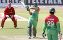 Shakib Al Hasan plays a pull shot, Zimbabwe v Bangladesh, 2nd T20I, Bulawayo, May 12, 2013