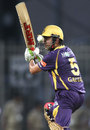 Gautam Gambhir keeps his eyes on the ball, Kolkata Knight Riders v Royal Challengers Bangalore, IPL, Ranchi, May 12, 2013