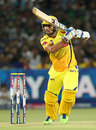 Murali Vijay drives the ball through the offside