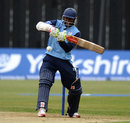 Shivnarine Chanderpaul prepares to pull, Derbyshire v Lancashire, Yorkshire Bank 40, Derby, May 12, 2012