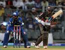 Parthiv Patel guides the ball through the onside, Mumbai Indians v Sunrisers Hyderabad, IPL 2013, Mumbai, May 13, 2013