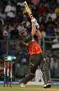 Cameron White smacks a six, Mumbai Indians v Sunrisers Hyderabad, IPL 2013, Mumbai, May 13, 2013