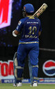 Sachin Tendulkar walks off retired hurt, Mumbai Indians v Sunrisers Hyderabad, IPL 2013, Mumbai, May 13, 2013