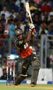 Hanuma Vihari plays a shot during his innings of 41, Mumbai Indians v Sunrisers Hyderabad, IPL 2013, Mumbai, May 13, 2013