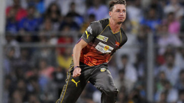 Dale Steyn was the best bowler for Sunrisers Hyderabad, conceding 23 runs in four overs