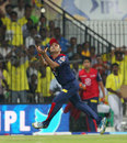 Virender Sehwag gets under a catch to dismiss Michael Hussey, Chennai Super Kings v Delhi Daredevils, IPL 2013, Chennai, May 14, 2013